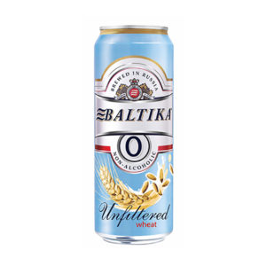 Bia Baltika 0% Unfiltered Wheat