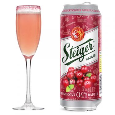 Bia Steiger Radler việt quất