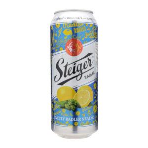 Bia Steiger vị chanh xanh