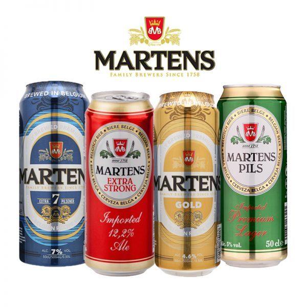 Các sản phẩm bia Martens