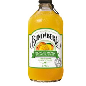 Nước trái cây có ga Bundaberg Tropical Mango 8%