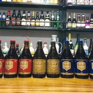 Combo 10 chai bia Chimay Bỉ