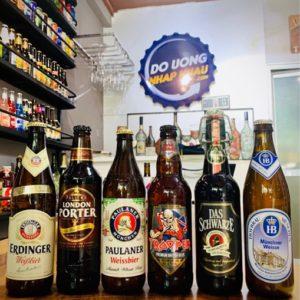 Combo 6 chai bia cao cấp Anh - Đức
