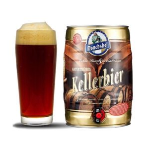 Bia Monchshof Kellerbier 5,4% Đức bom 5 lít