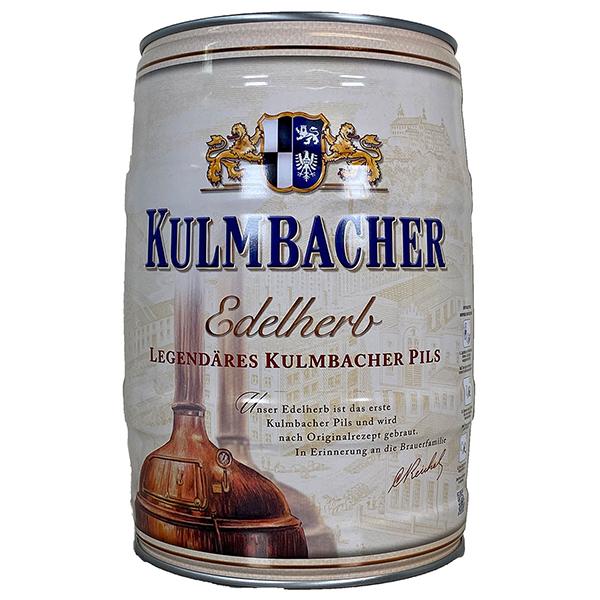 Bia Kulmbacher Edelherb 4,9% Đức bom 5 lít