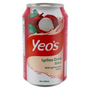 Nước hoa quả Yeo's vị Vải