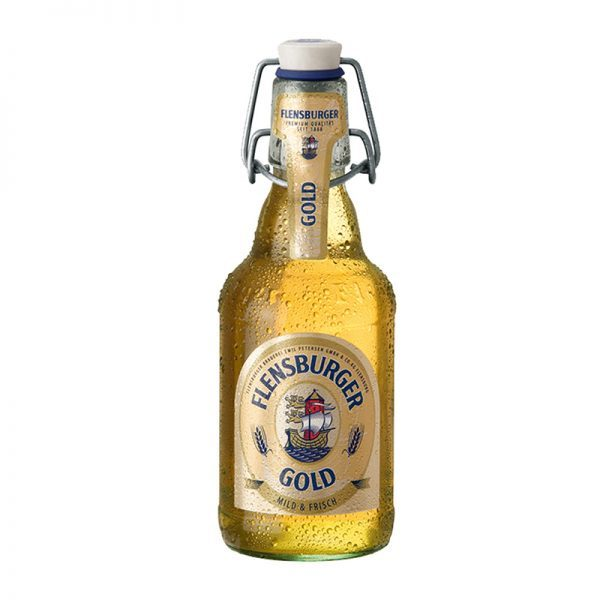 Bia Flensburger Gold