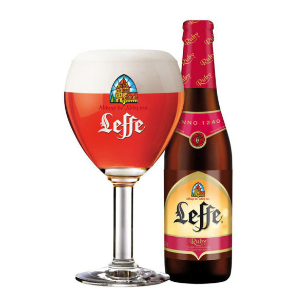 Bia Leffe Ruby