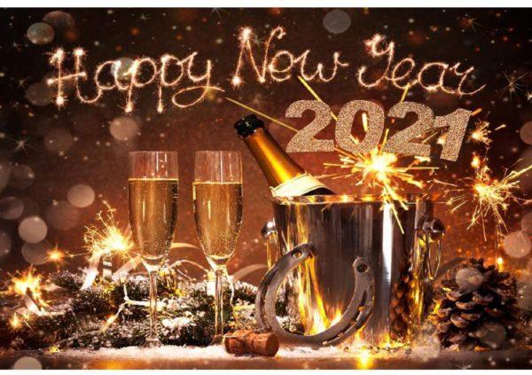Happy new year rượu vang