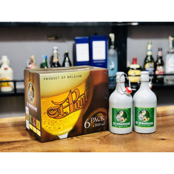 Bia biếu tết bia Sứ Grand Cru Bỉ