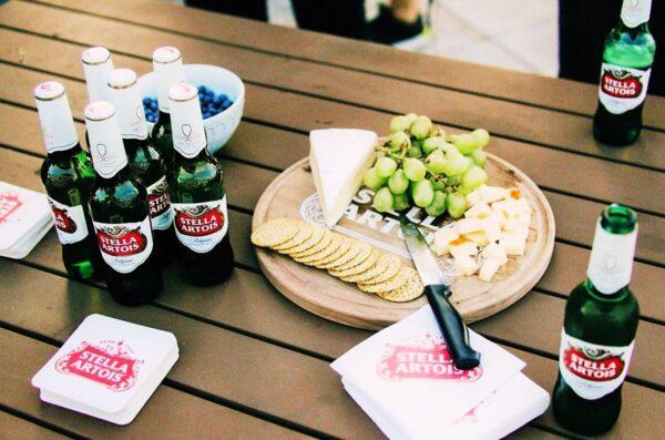 Bia Stella Artois tại nhà hàng