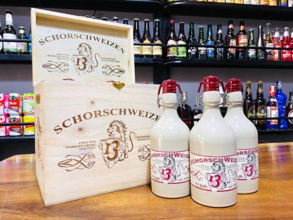 Bia sứ Schorsch Weizen