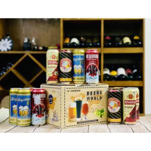Hộp quà bia Nga mix