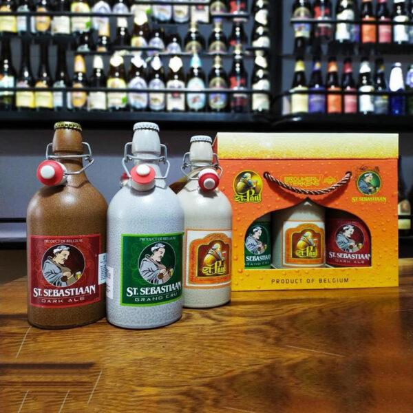 Hộp quà bia sứ Bỉ