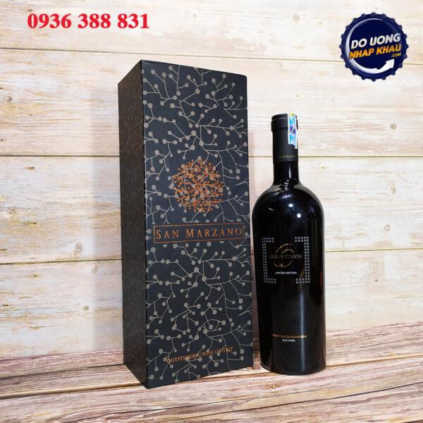 Hộp quà vang 60 Sessantani Limited 15,5%