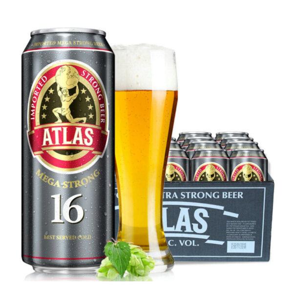 Bia Atlas Mega Strong 16%
