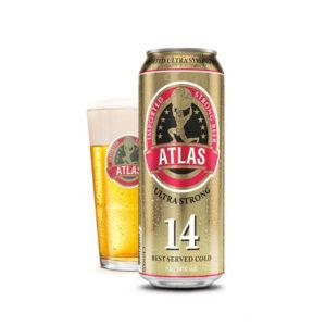 Bia Atlas Ultra Strong 14%