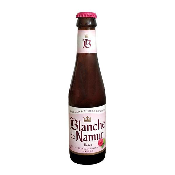 Bia Blanche De Namur Rosee