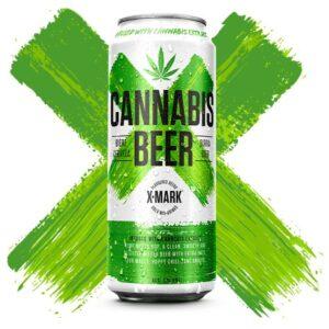 Bia Cannabis Beer X Mark