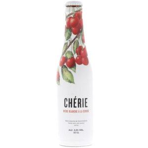Bia Cherie Biere Blanche vị cherry