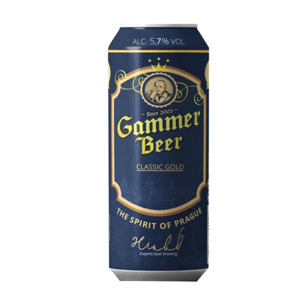 Bia Gammer Tiệp 500ml