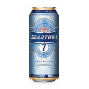 Bia Baltika số 7 Nga 5.4% lon 900ml