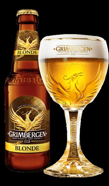 Bia Grimbergen Blonde