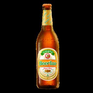 Bia Lào Lager 5% chai 640ml