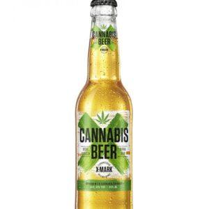 Bia Cannabis X Mark chai 330ml