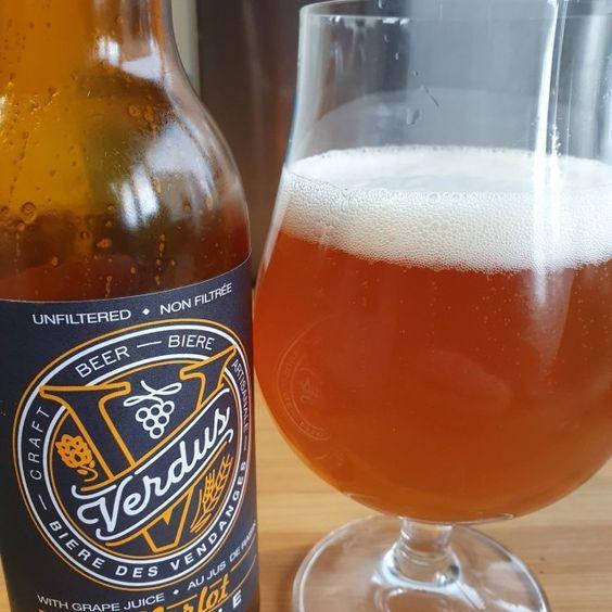 Bia Verdus Merlot Blonde Pale Ale